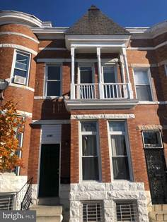 Residential Property for sale in 1307 N LUZERNE AVENUE, Baltimore City, MD, 21213