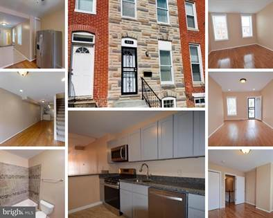 Residential Property for sale in 446 N PATTERSON PARK AVENUE, Baltimore City, MD, 21231