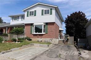 Residential Property for sale in 26 FOLKSTONE Crescent, Kitchener, Ontario, N2E 2S5