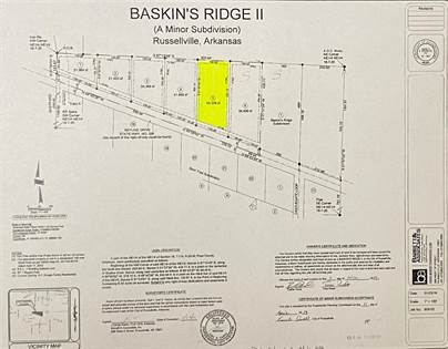 Lots And Land for sale in 1615 Skyline Drive, Russellville, AR, 72802