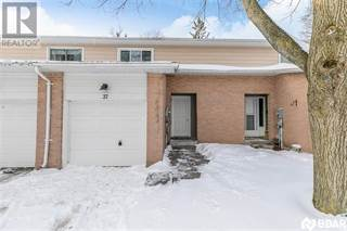 Condo for sale in 37 -BERNICK Drive 2, Barrie, Ontario, L4M5K4