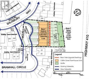 Vacant Land for sale in 66 BRAMHALL CIRC, Brampton, Ontario, L6V2G4
