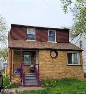 Residential Property for sale in 13541 MINOCK Street, Detroit, MI, 48223