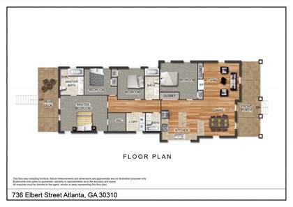 Residential Property for sale in 736 Elbert Street, Atlanta, GA, 30310