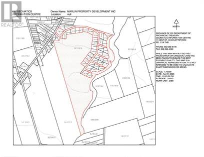 Vacant Land for sale in 0 Winter River Circle, Pleasant Grove, Prince Edward Island, C0A1P0