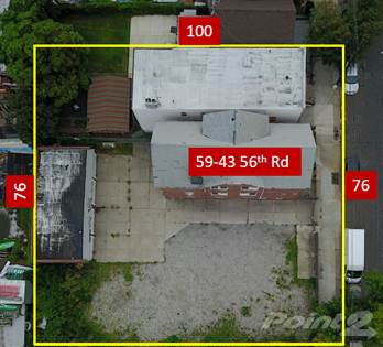Land for sale in 5943 56th Rd, Maspeth, NY, 11378