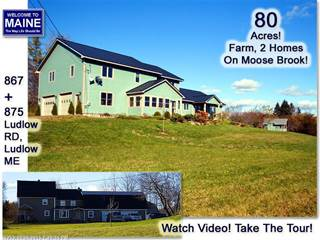 Single Family for sale in 875 Ludlow RD, Greater Houlton, ME, 04730