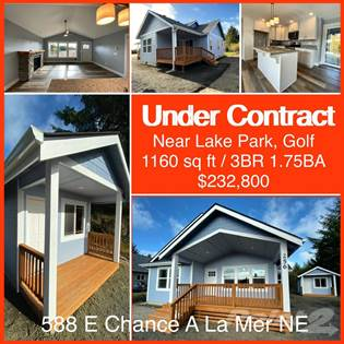 Residential for sale in 588 E Chance A La Mer NE, Ocean Shores, WA, 98569