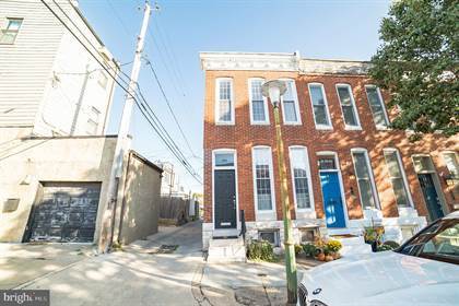 Residential Property for sale in 500 E BARNEY STREET, Baltimore City, MD, 21230