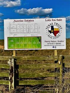 Lots And Land for sale in 1225 Old Columbus Road North, Sealy, TX, 77474