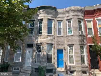 Residential Property for sale in 1514 N MOUNT ST, Baltimore City, MD, 21217