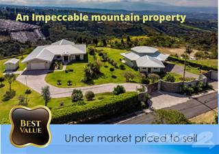 Residential Property for sale in Central Valley Mountain Home & Guest Home Below Market, Atenas, Alajuela
