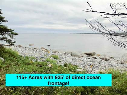Lots And Land for sale in Stewart's Point Road, East Port L'Hebert, Nova Scotia, B0T 1T0