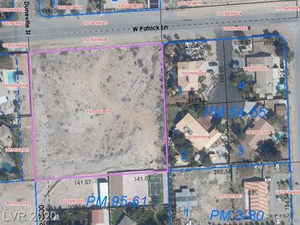 Lots And Land for sale in 0 West Patrick, Las Vegas, NV, 89118