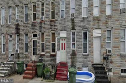 Residential Property for sale in 316 S WOODYEAR STREET, Baltimore City, MD, 21223
