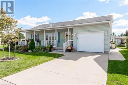 Single Family for sale in 30 ANN Street Unit 45, St. Marys, Ontario, N4X1C8