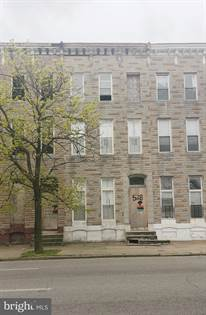 Residential Property for sale in 528 N FULTON AVENUE, Baltimore City, MD, 21223