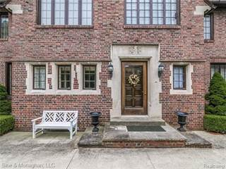 Single Family for sale in 854 EDGEMONT Park, Grosse Pointe Park, MI, 48230
