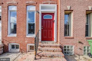 Townhouse for sale in 1178 NANTICOKE STREET, Baltimore City, MD, 21230