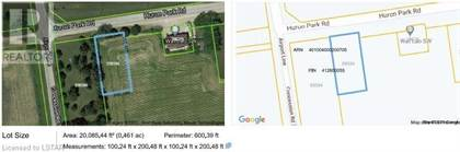 Vacant Land for sale in PT LT 5 CONCESSION 2 Road, Huron Park, Ontario, N0M1Y0