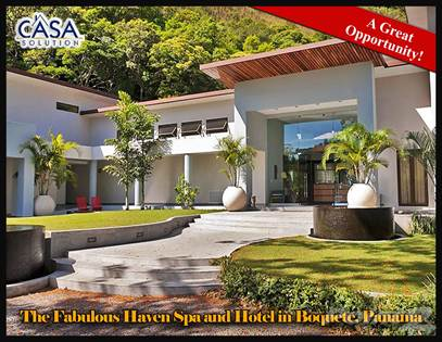 Commercial for sale in The Fabulous Haven Spa and Hotel in Boquete, Panama is Now for Sale, Boquete, Chiriquí