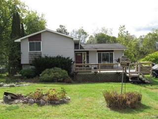Single Family for sale in 9065 MILFORD Road, Rose Township, MI, 48442