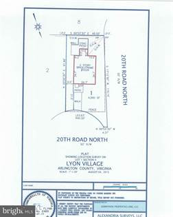 Lots And Land for sale in 3226 20TH ROAD N, Arlington, VA, 22207