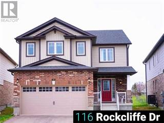 Single Family for rent in 116 ROCKCLIFFE Drive, Kitchener, Ontario, N2R1W6