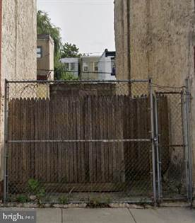 Lots And Land for sale in 2739 N MASCHER STREET, Philadelphia, PA, 19133
