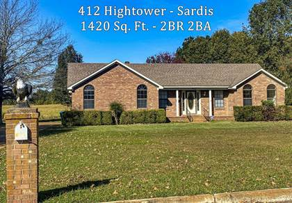 Residential Property for sale in 412 Hightower, Sardis, MS, 38666