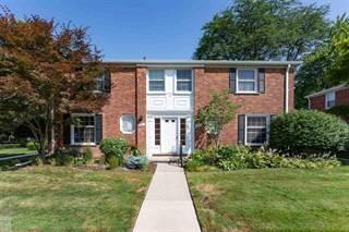 Townhouse for sale in 16919 Saint Paul St, Grosse Pointe, MI, 48230