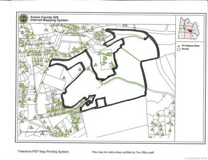Lots And Land for sale in TBD ANSON APPAREL SHIRT Road, Wadesboro, NC, 28170