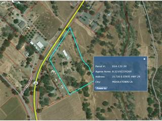 Comm/Ind for sale in 21720 S State Highway 29, Middletown, CA, 95461