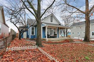 Single Family for sale in 410 Sanders Street, Indianapolis, IN, 46225