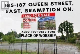 Land for sale in 185-187 QUEEN ST, Brampton, Ontario