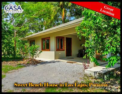 Residential Property for sale in Sweet beach House for Sale, Las Lajas, Chiriqui, Las Lajas Beach, Chiriquí