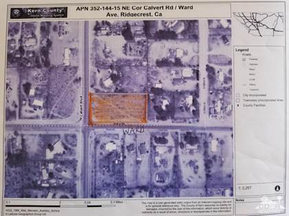 Lots And Land for sale in Vacland Ward Avenue, Ridgecrest, CA, 93555