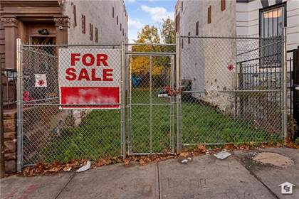 Lots And Land for sale in 864 East 164 Street, Bronx, NY, 10459
