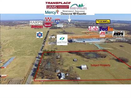 Lots And Land for sale in 1525  W Monroe  AVE, Lowell, AR, 72745