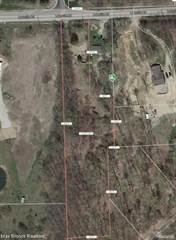 Land for sale in 1741 Lakeville, Addison Township, MI, 48367