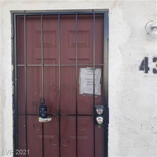 Residential Property for rent in 1720 Bonanza Road 43, Las Vegas, NV, 89106