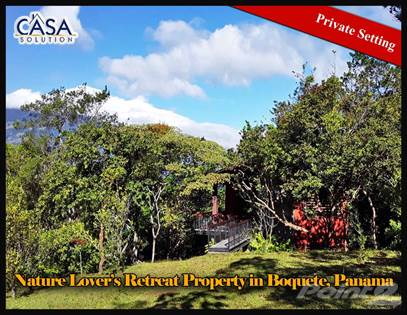 Residential Property for sale in Property in Private Setting Yet Close to Town in Jaramillo, Boquete, Boquete, Chiriquí