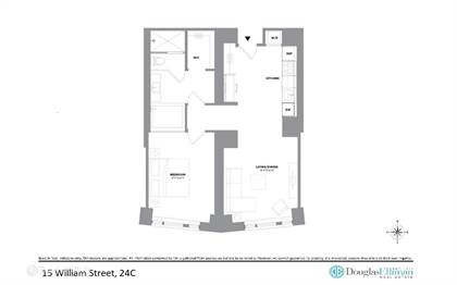 Residential Property for sale in 15 William St 24C, Manhattan, NY, 10005