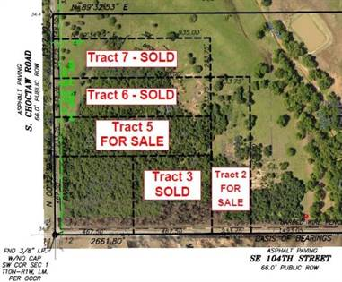 Lots And Land for sale in SE 104 Street, Oklahoma City, OK, 73165