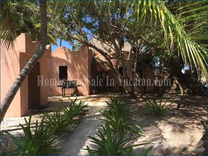 For Sale: ONE OF THE LAST AFFORDABLE BEACHFRONT HOMES IN YUCATAN Located in  Beautiful Santa Clara, Santa Clara, Yucatan - More on POINT2HOMES com