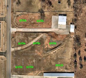 Lots And Land for sale in 9150 N Hiwassee Street, Jones, OK, 73049