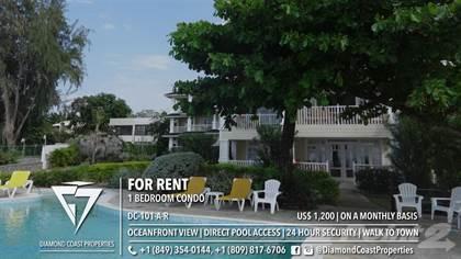 Condominium for rent in Oceanfront 1 Bedroom Apartment | Walk to Town | 24 Hour Security | Quiet part of Sosua, Sosua, Puerto Plata