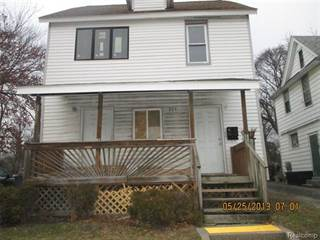 Multi-Family for sale in 289 N Perry, Pontiac, MI, 48342