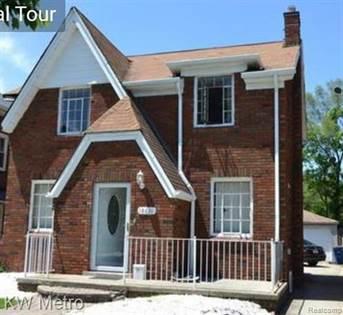 Residential Property for sale in 18631 ROSELAWN Street, Detroit, MI, 48221