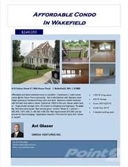 Condo for sale in 410 Salem Street, Wakefield, MA, 01880